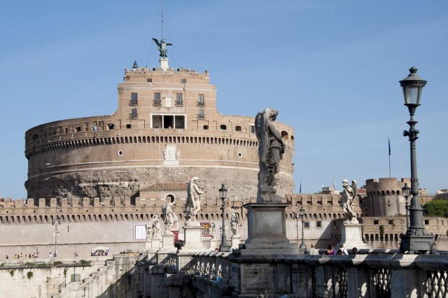 Castel Sant'Angelo - rione Borgo