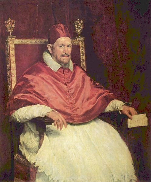 Inocencio X, Velázquez