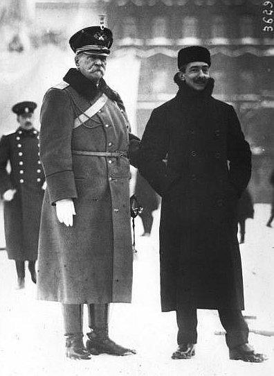 Georgi Skalon y Pietro Canonica, 1914