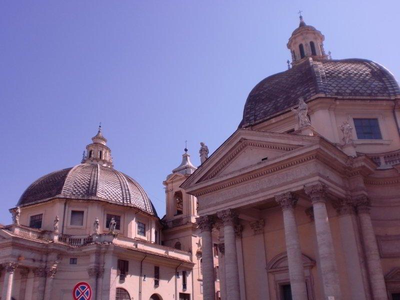 Santa Maria in Montesanto y Santa Maria dei Miracoli