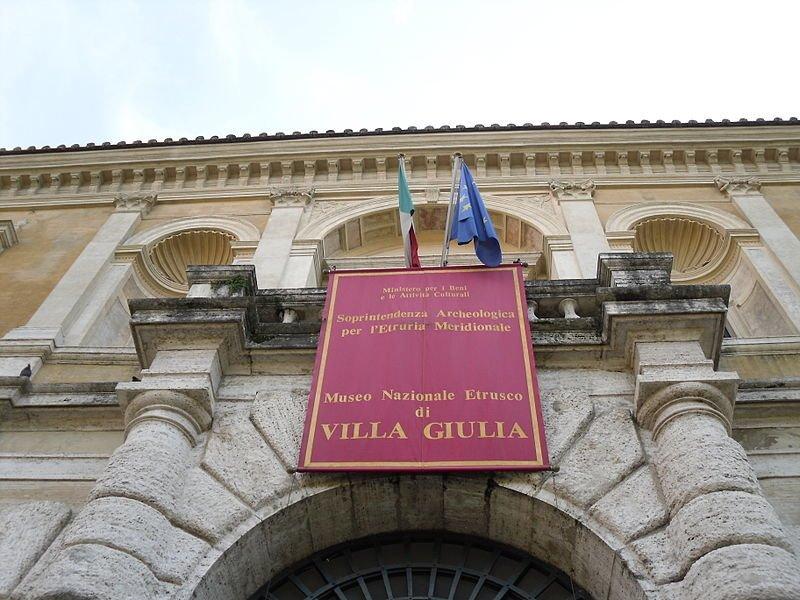 Museo Etrusco de Villa Giulia