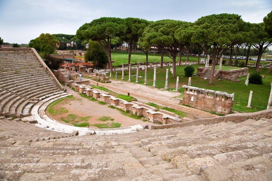 Anfiteatro, Ostia Antica