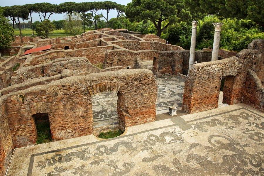 Termas de Neptuno, Ostia Antica