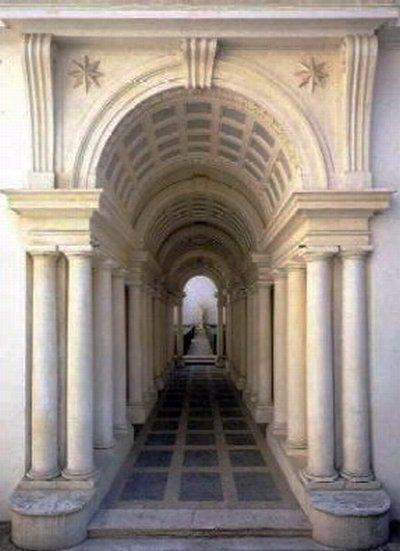 Palazzo Spada, Galería con perspectiva forzada