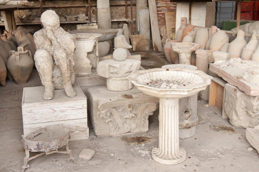 Restos arqueológicos de Pompeya