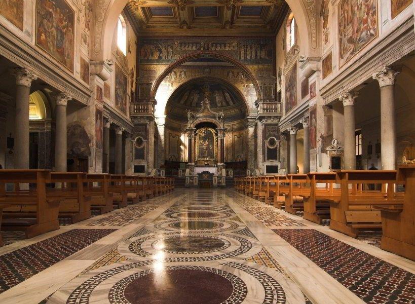 Viajar A Roma Iglesia De Santa Prassede De Roma