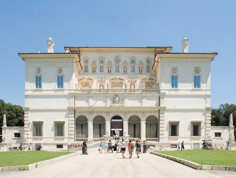 Villa Borghese Pinciana, Galería Borghese