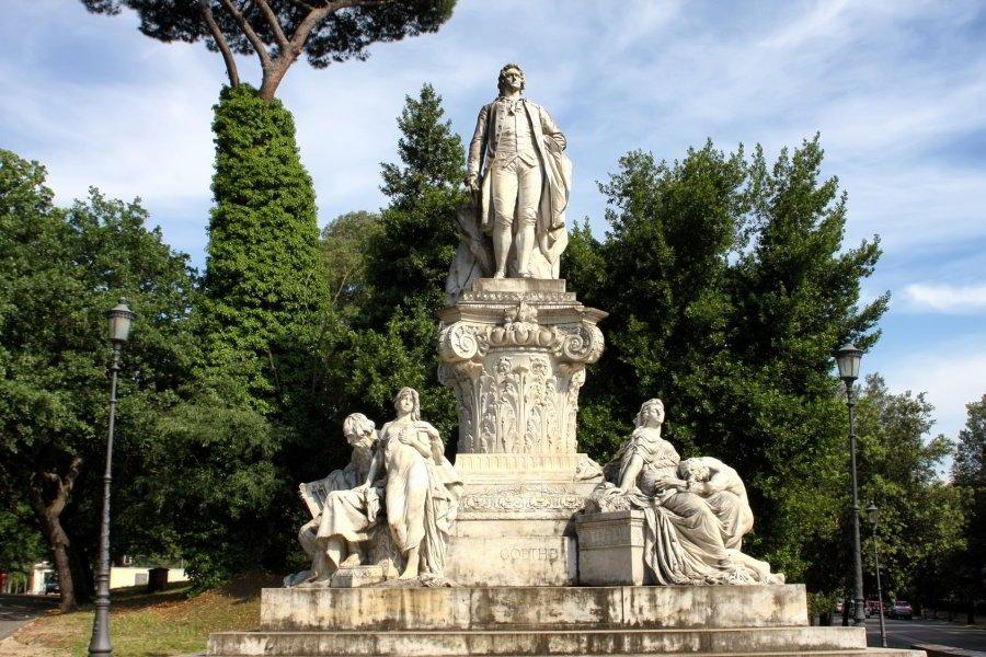Goethe en Villa Borghese