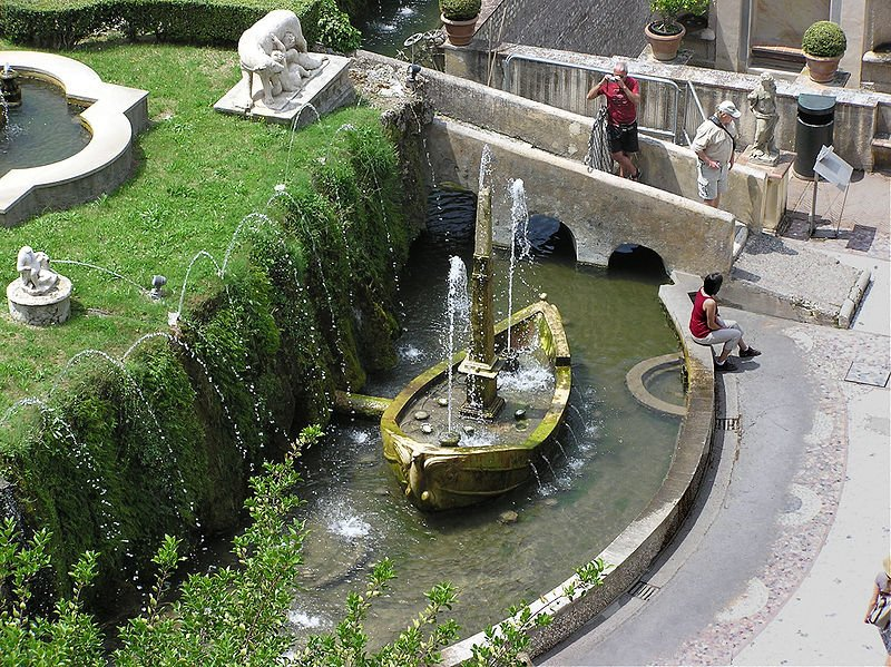Tívoli - Villa d'Este, Rometta
