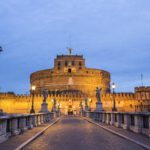 Castel Sant'Angelo, Ponte Sant'Angelo and the Bernini's marble angels