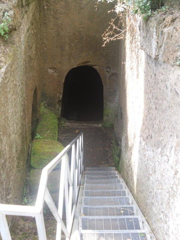 Tomba dei Doli, Necrópolis Banditaccia, Cerveteri
