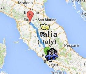 Situación de Florencia respecto a Roma
