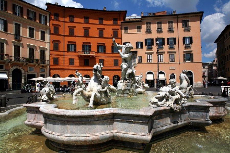 Piazza Navona, Fontana de Neptuno