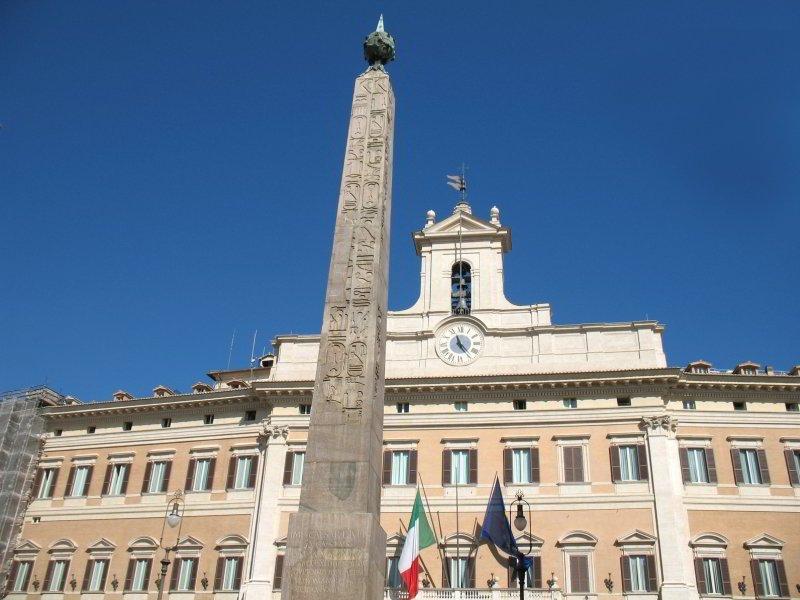 Palazzo de Montecitorio - rione Colonna