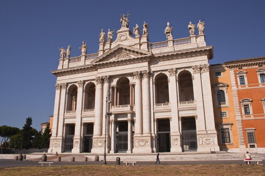 Basílica de San Giovanni in Laterano - rione Esquilino