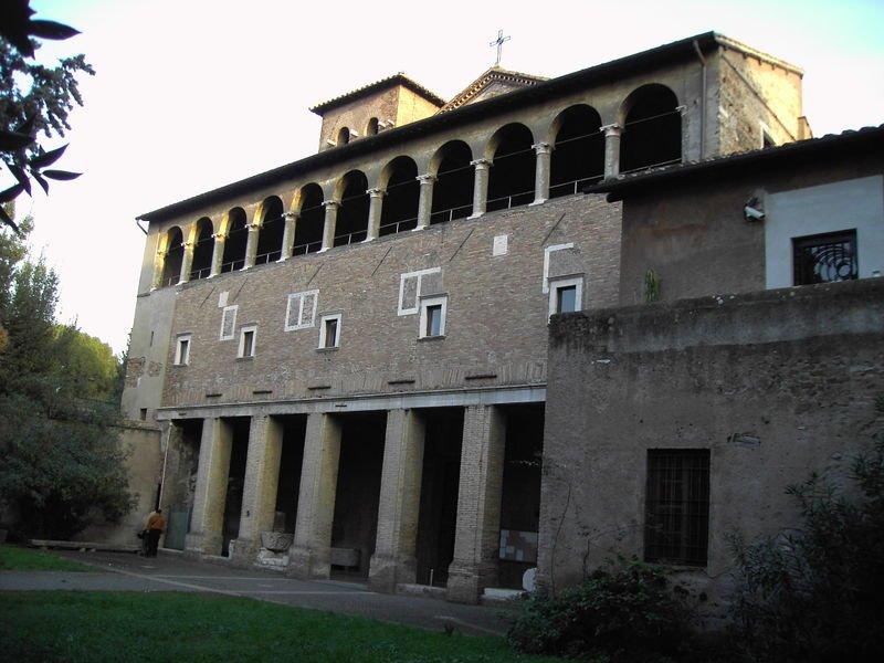 Iglesia de San Saba - rione San Saba