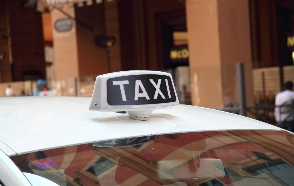 Taxi en Roma
