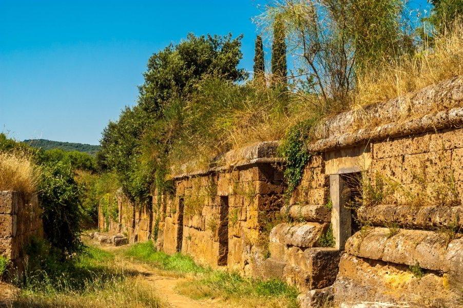 Necrópolis Banditaccia, Cerveteri