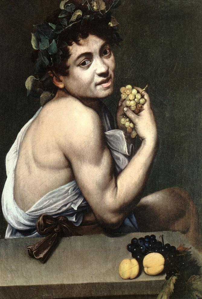 """Baco Enfermo"", Caravaggio"