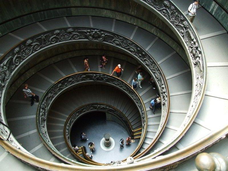 Museos Vaticanos, Escalera Simonetti