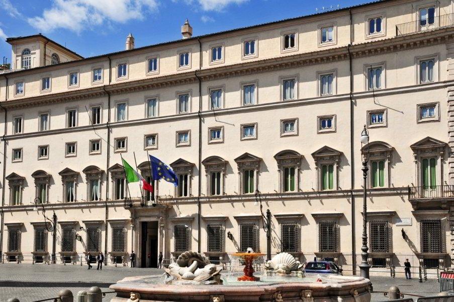 Piazza Colonna y Palazzo Chigi