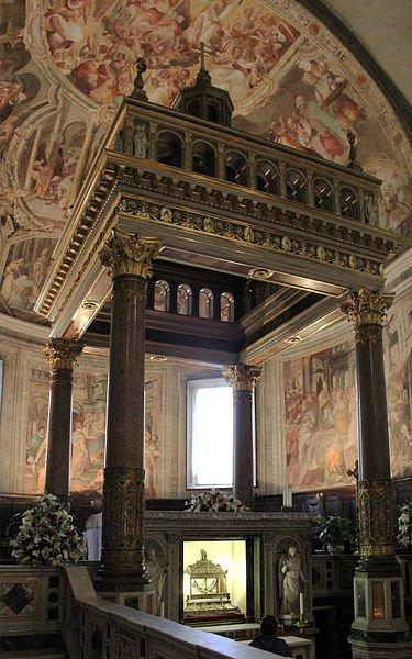 Altar de la Iglesia de San Pietro in Vincoli