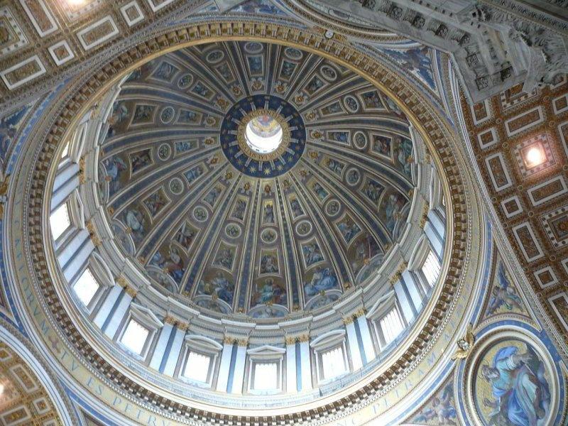 Cúpula de la Basílica de SanPedro