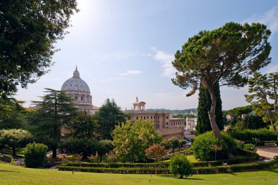 viajar a roma jardines vaticanos