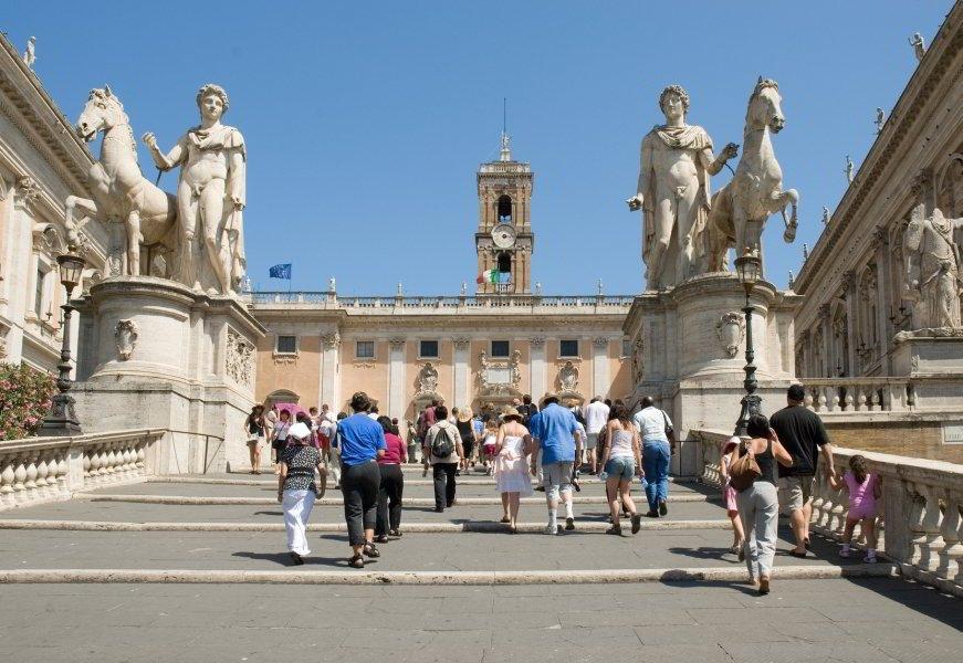 Cordonatta, Piazza del Campidoglio