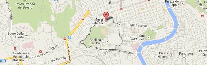 Punto de Salida Tour Museos Vaticanos